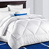 King Comforter Soft Quilted Down Alternative Duvet Insert with Corner Tabs Summer Cooling 2100 Series,Luxury Fluffy Reversibl