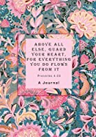 Above all Else Guard Your Heart For Everything You do Flows From it: Proverbs 4:23 [並行輸入品]