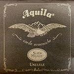 Aquila Super Nylgut ウクレレ弦 セット ソプラノ用 AQS-SR