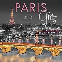 Paris Glitz 2018 Wall Calendar [並行輸入品]