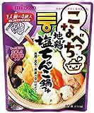 ミツカン こなべっち 地鶏塩ちゃんこ鍋つゆ 4袋×2個