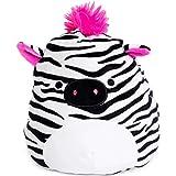 "Squishmallow Kellytoy 8"" Tracey The Zebra New Assortment 3- Super Soft Plush Toy Animal Pillow Pal Pillow Buddy Stuffed Anima"