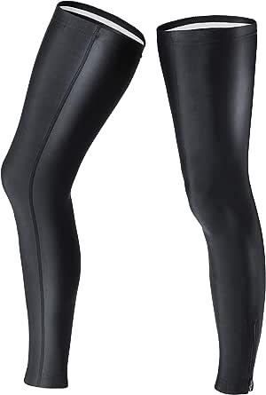 ROYALCROWN ファスナー付き サイクルレッグカバー レッグウォーマー ランニング 登山 アウトドア スポーツ UPF50+ 両足セット 男女共用 ロング丈 ロードバイク 防寒 メンズ