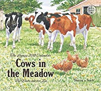 Legacy Publishing Group 2018 12-Month Wall Calendar Cows in the Meadow [並行輸入品]