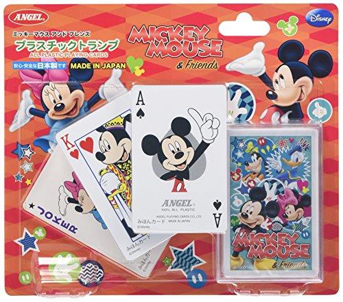 プラスチックトランプ SPMM4 ミッキーマウス