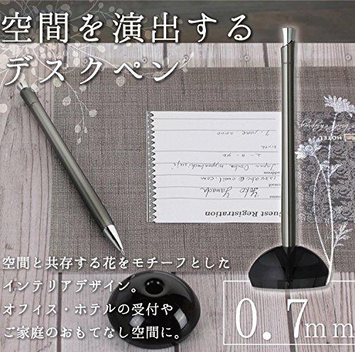 ゼブラ デスクペン フロス 0.7 BA65-GBK グラスブラック