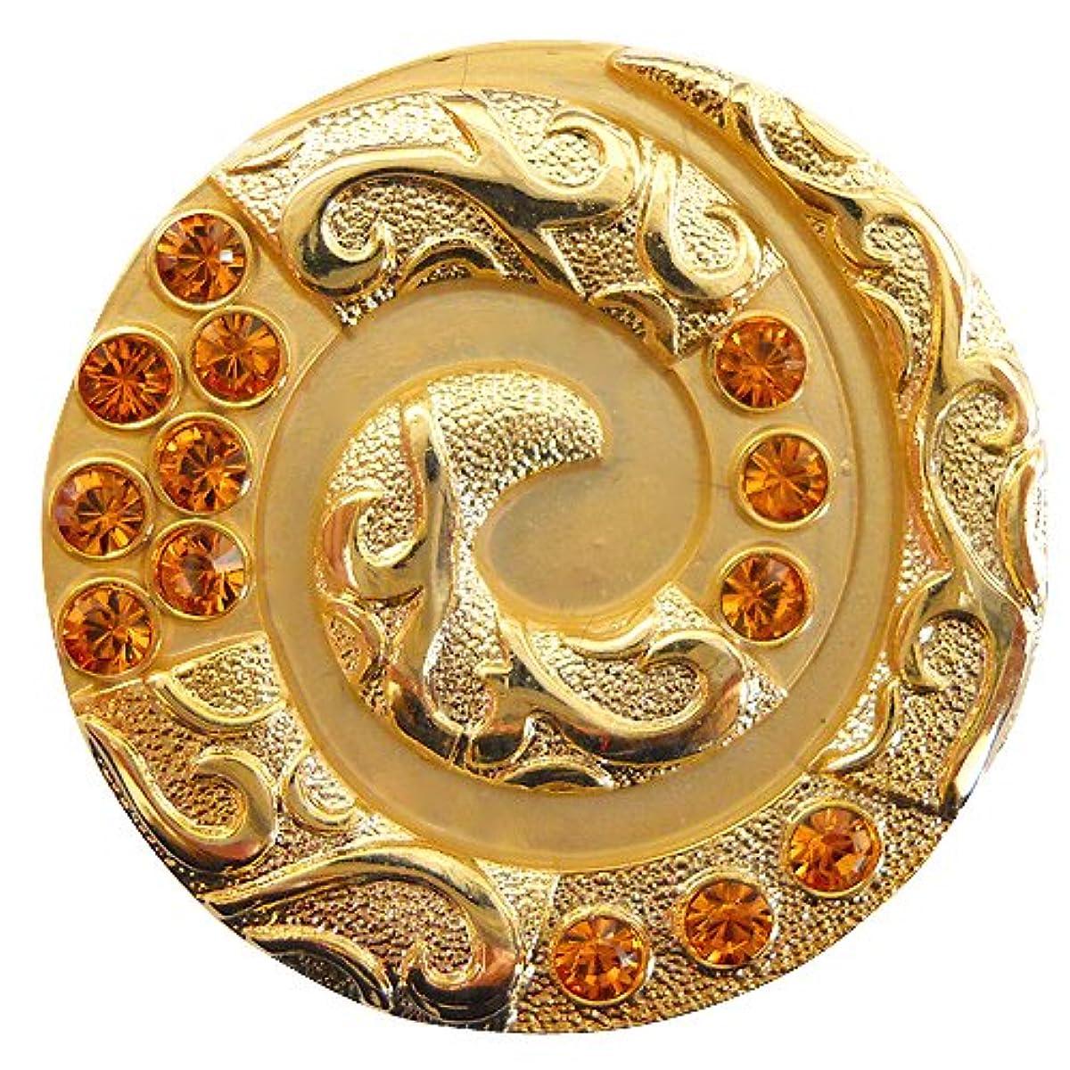 販売計画二年生近所のPIXMA GOLF USA スワロフスキー クリスタル ゴルフマーカー セット Snake Gold スネーク 【メインマーカー+磁石クリップ帽子用】