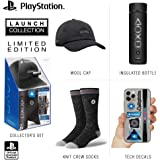 Controller Gear Official Sony PlayStation 5 Launch Collection Merchandise Bundle - Wide Mouth Stainless Steel Water Bottle, P