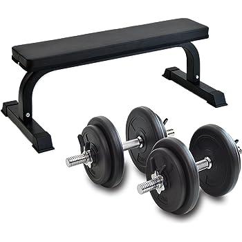 G-Body ダンベル 10kg 2個セット 20kg スプリングクリップ付き 2461000100