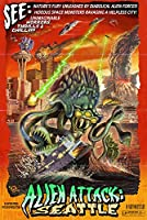 Seattle Alien Attack 24 x 36 Signed Art Print LANT-36688-710