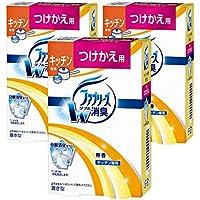 【まとめ買い】 ファブリーズ 消臭剤 置き型 キッチン専用 無香 つけかえ用 130g×3個
