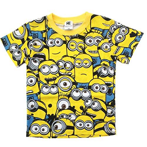 ミニオン 子供 Tシャツ ぎっしり キッズ100 MNAP251