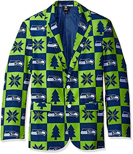High Quality Men's Patches Ugly Business Jacket, Size 50/XX-Large