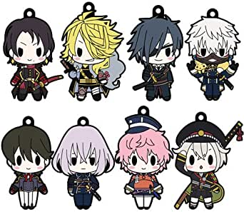 D4 刀剣乱舞-ONLINE- ラバーストラップコレクション Vol.1 BOX商品 1BOX=8個入り、全8種類