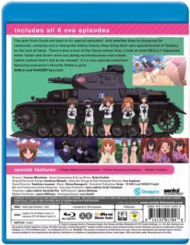 Girls Und Panzer: Ova Specials [Blu-ray] [Import] Section23 Films