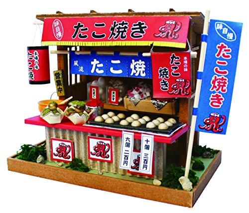 ビリー 手作りドールハウスキット 昭和屋台キット たこ焼き屋 8539