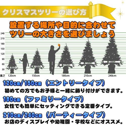 クリスマスツリー ヌードツリー 木製ポット付ワイド グリーン 緑 180cm 1.8m モミの木 枝ぶり 高級感 豪華 人気 クリスマス2014 Xmas 北欧