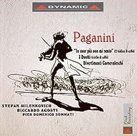 パガニーニ:「うつろな心」による序奏と変奏曲/3つの二重奏曲/他(ミレンコヴィッチ/アゴスティ)
