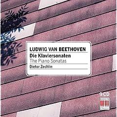 ディーター・ツェヒリン独奏 べートーヴェン:ピアノソナタ全集(9枚組) 録音1960の商品写真