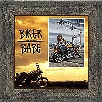 Biker Babe、ハーレーダビッドソンオートバイ、10x 109772 10x10