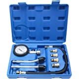 BTSHUB Petrol Gas Engine Cylinder Compression Tester Kit Automotive Tool Gauge