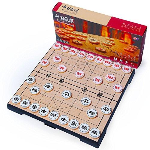 [해외]중국 장기 세트 象棋 棋將 판지 샨 찌는 마그네틱 본 장 (아리카)/Chinese Shogi Set Chess Coordinate Carton Shan Chi Magnetic Honored Place (Arica)