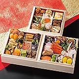 京都 祇おん 江口 監修 おせち料理 2018 祝 三段重 盛り付け済み 冷蔵おせち お届け日:12月31日