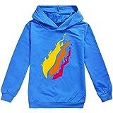 fashionaa PRESTONPLAYZ Children's Hoodie Sweatshirts Sport Suit Teenage Kids Preston Playz T Shirt Hoodies Tops Clothes Track