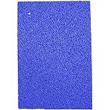 日本製 吸水 速乾 セルロース スポンジ 水切りマット 大判 サイズ 45×31cm ブルー