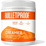 Keto Creamer, Original, Unflavored, 2g Net Carbs, 10g Healthy Fats from Powdered MCT Oil, Grass Fed Butter, 0g Sugar, Bulletp