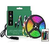 TV LED Backlights, LED Strip lights 6.56ft for TV 46-60 inch, LED Rope Lights for Bedroom with Remote, 16 Color Changing 5050
