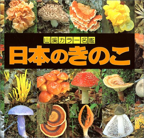 日本のきのこ (山渓カラー名鑑)