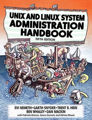 [画像:UNIX and Linux System Administration Handbook (5th Edition)]
