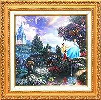 Disney ディズニー/トーマス・キンケード「シンデレラ/夢の願い」額付【並行輸入品】