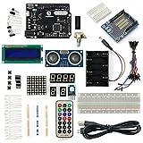 サインスマート Arduino(Leonardo R3)をはじめよう互換キット 初心者にArduino基本チュートリアルプロジェクト付き!(内容リストは本ページの商品の仕様をご参考下さい)