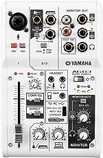 ヤマハ YAMAHA ウェブキャスティングミキサー 3チャンネル AG03