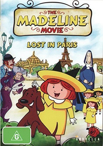 The Madeline Movie - Lost in Paris by Lauren Bacall, Christopher Plummer, Andrea Libman Jason Alexander