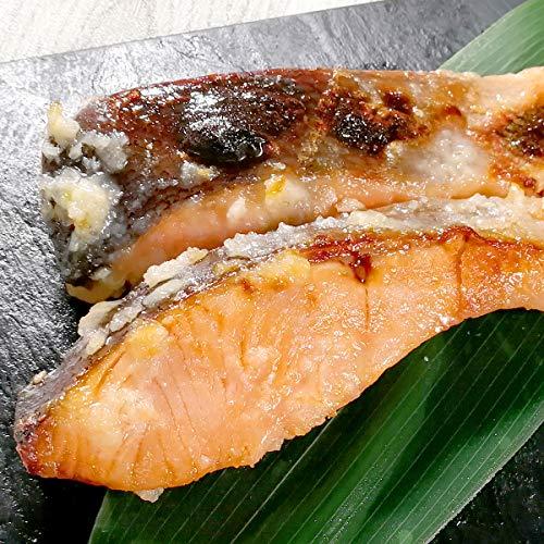 サーモン専門店岩松 銀鮭の塩麹漬け 10切