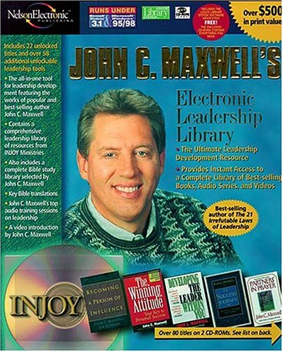 Download John C. Maxwell's Electronic Leadership Library 0785243917