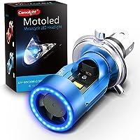 Camelight 青色光付き CCFL バイク用 LED ヘッドライト H4 / HS1 Hi/Lo 直流 DC 12…
