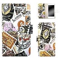 whitenuts AQUOS ea 606SH ケース 手帳型 ポステージ ピンク スマホケース 手帳 WN-OD286255_MX