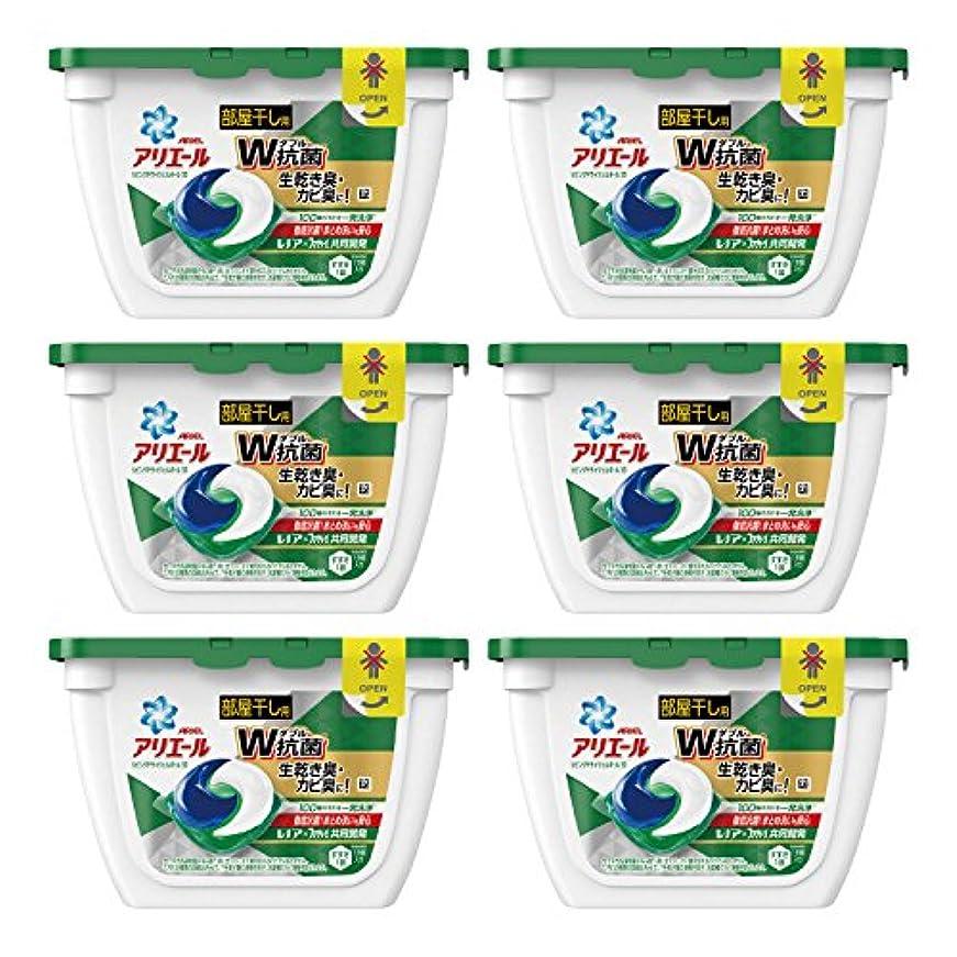 効果飾る任命する【ケース販売】 アリエール 洗濯洗剤 リビングドライジェルボール3D 本体 18個入×6個