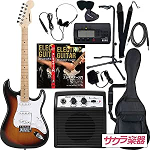 SELDER セルダー エレキギター ストラトキャスタータイプ サクラ楽器オリジナル ST-16M/SB リミテッドセットプラス
