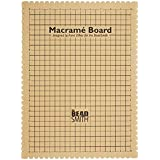 Beadaholique Macrame Board for Braiding, 14 by 10-Inch
