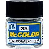 Mr.カラー C33 つや消しブラック