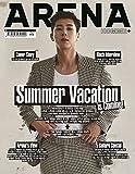 韓国雑誌 ARENA HOMME+ (アレナ)2017年 6月号 (東方神起 ユンホ 画報,記事掲載)