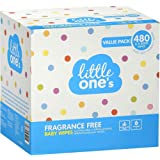 2X Little One?s Fragrance Free Baby Wipes