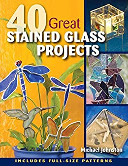 amazon co jp 40 great stained glass projects english edition 電子