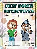 Deep Down Detectives Unit 1 Visual Aids ESV [並行輸入品]