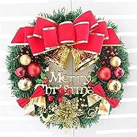 ZZYYHHクリスマスデコレーションガーランド、人工ガーランドドア掛けガーランドクリスマスツリーアクセサリー新年の装飾的なガーランド、休日の装飾、A